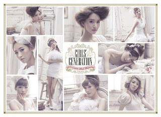 snsd first japan album let it rain