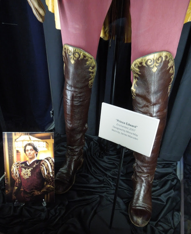 Prince Edward costume boots Enchanted