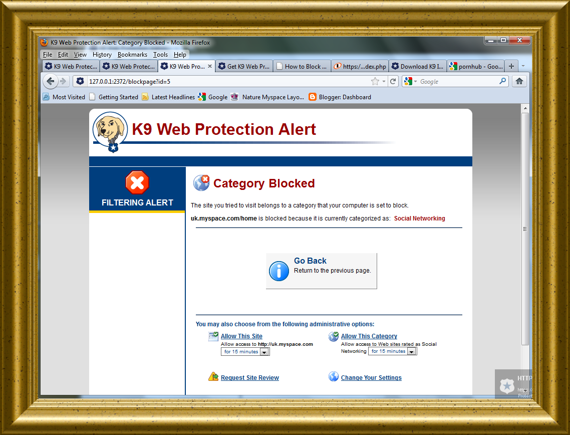 Blue Coat Community Outreach Program, K9 Web Protection is free for home ...