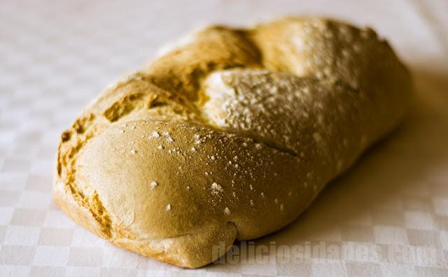 deliciosidades - Hogaza de pan de trigo
