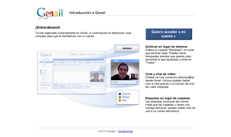 Correo gmail abrir