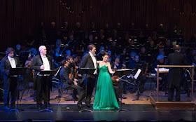 David Stout, Nicky Spence, Riccardo Massi, Ermonela Jaho & BBC Symphony Orchestra (c) Russell Duncan