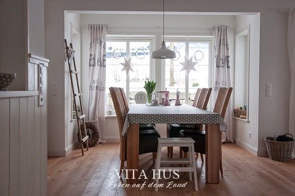 Schwedenhaus inneneinrichtung  Wohnen in weiss - * VitaHus *