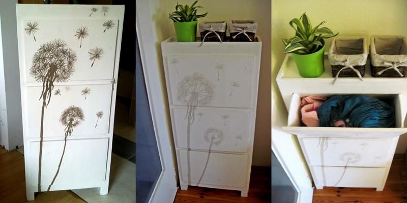 szafka na buty z kartonu | kartonowa szafka na buty | meble z kartonu | kartonowe meble | meble z tektury