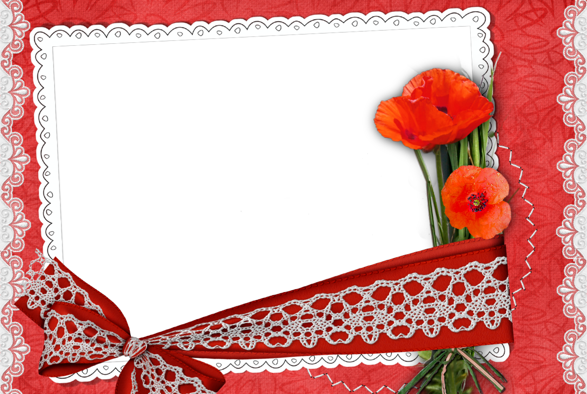5 Preciosos Marcos para Fotos Románticos. En Png. | Marcos Gratis ...