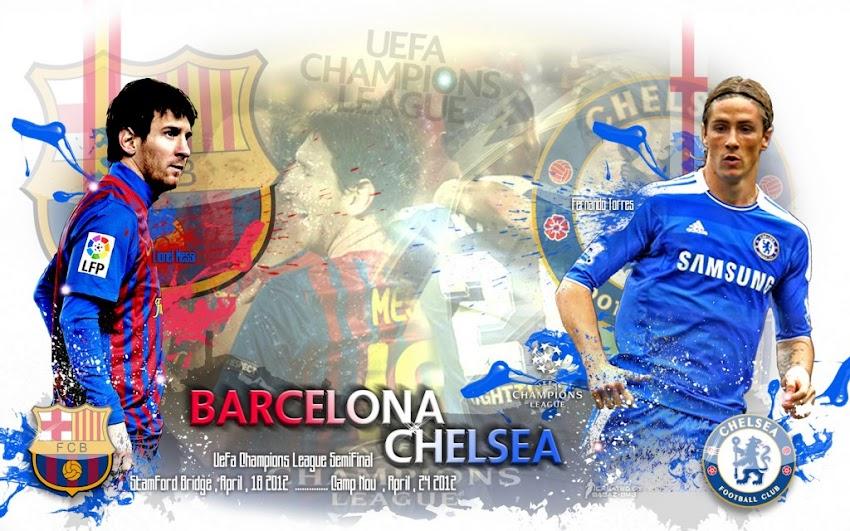 مشاهدة مباراة برشلونة وتشيلسى اليوم اون لاين عصام الشوالي تشلسي وبرشلونة بث مباشر 18/4/2012