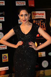 Actress Pragya Jaiswal Pictures in Black Dress at IIFA Awards 2016  252828