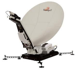 Трехдиапазонный VSAT терминал GCS HAWKEYE™ III LITE 1,2 м