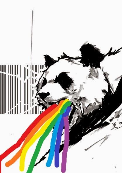 Y Un Panda Vomitando Arcoiris...