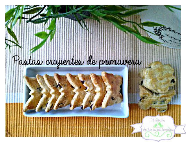 pastas galletas chocolate crujientes