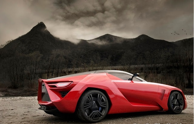 Concept Car Bertone Mantide Concept Car