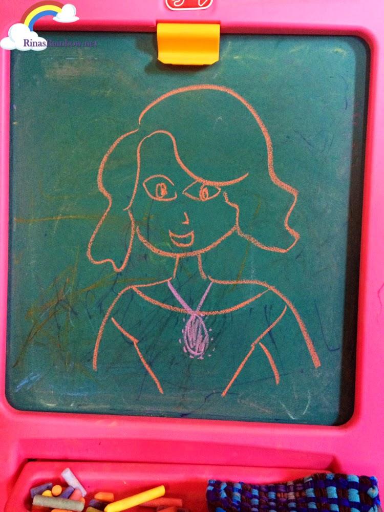 sofia the first chalk