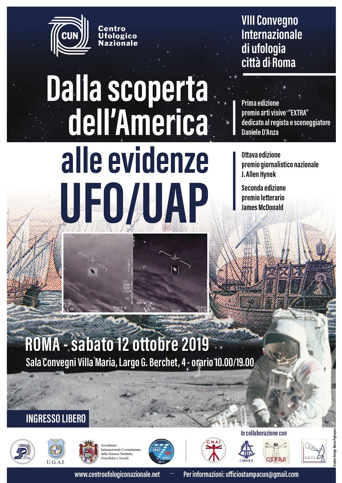 DALLA SCOPERTA DELL'AMERICA ALLE EVIDENZE UFO/UAP