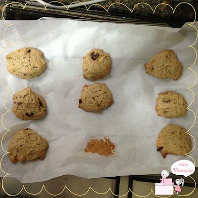 receita de cookie mon maternité
