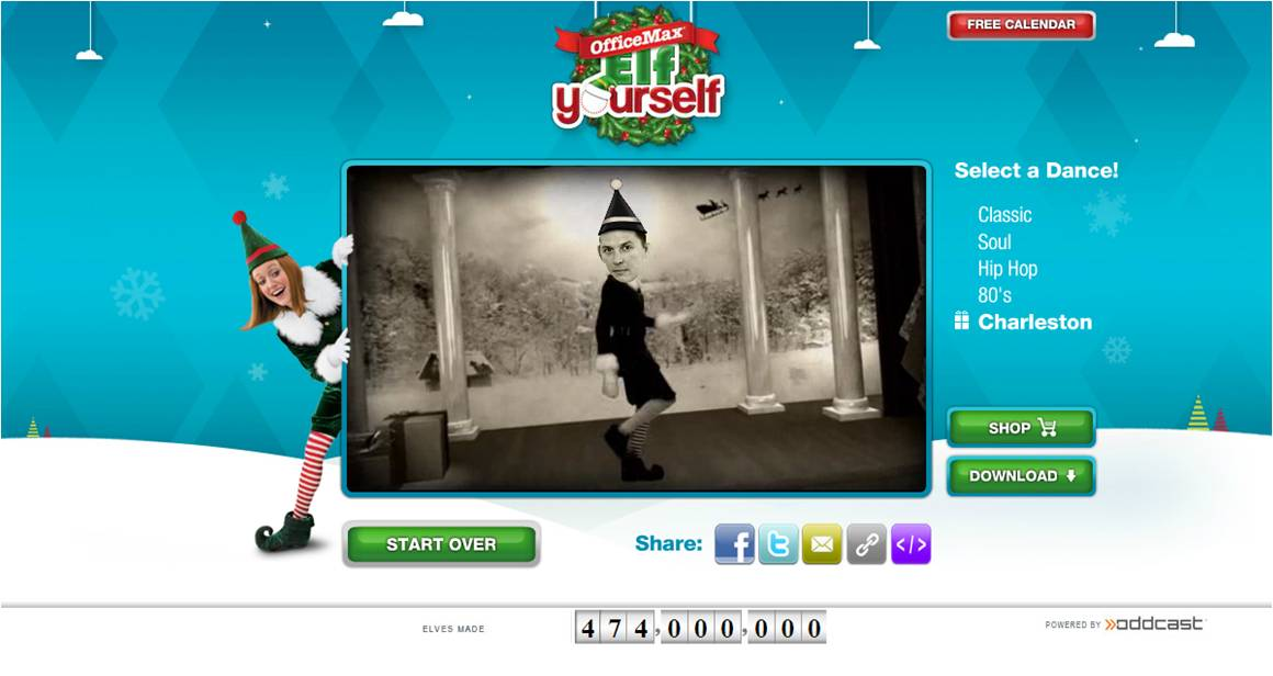 ELF YOURSELF CHRISTMAS FREE