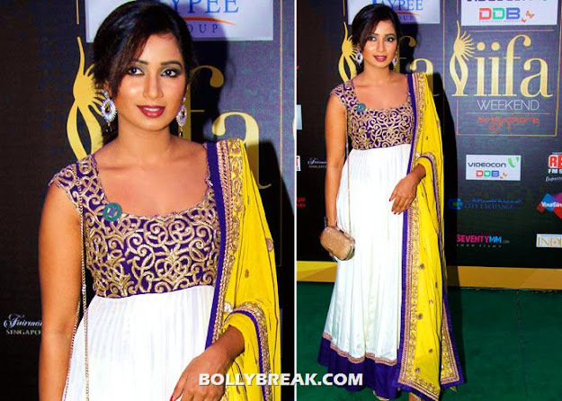 shreya ghoshal at iifa awards - (4) - shreya ghoshal Hot Pics