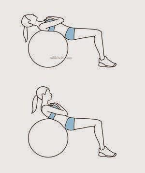 Göbek Eriten Pilates Hareketi