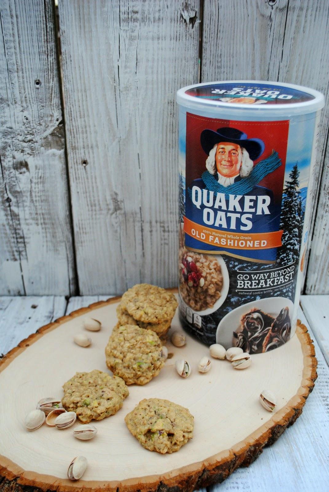 Quaker Oats Oatmeal Pistachio Cookie