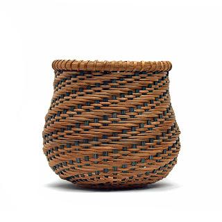 Spiral Twill Basket