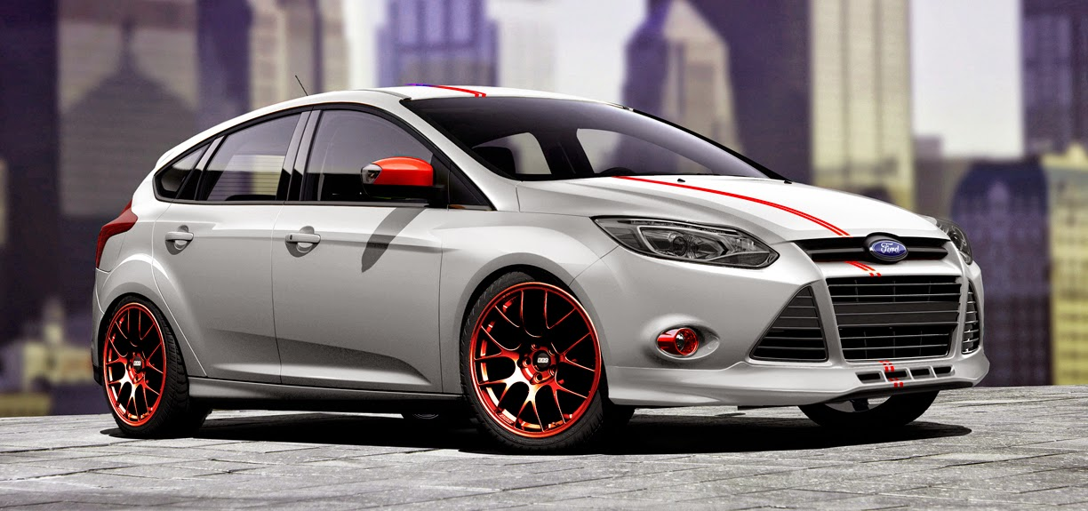 Ford Focus 3d carbon
