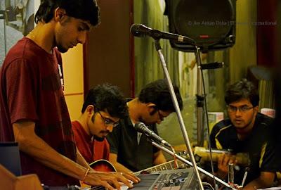 Anil CJ, Prahlad Prasad, Viswa and Kishan (Photo - Jim Ankan Deka)