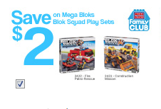 Mega Bloks coupon