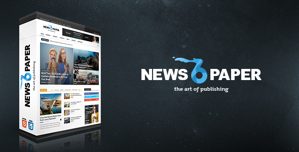 Free Download Newspaper V6.4 Responsive Wordpress Magazine Theme