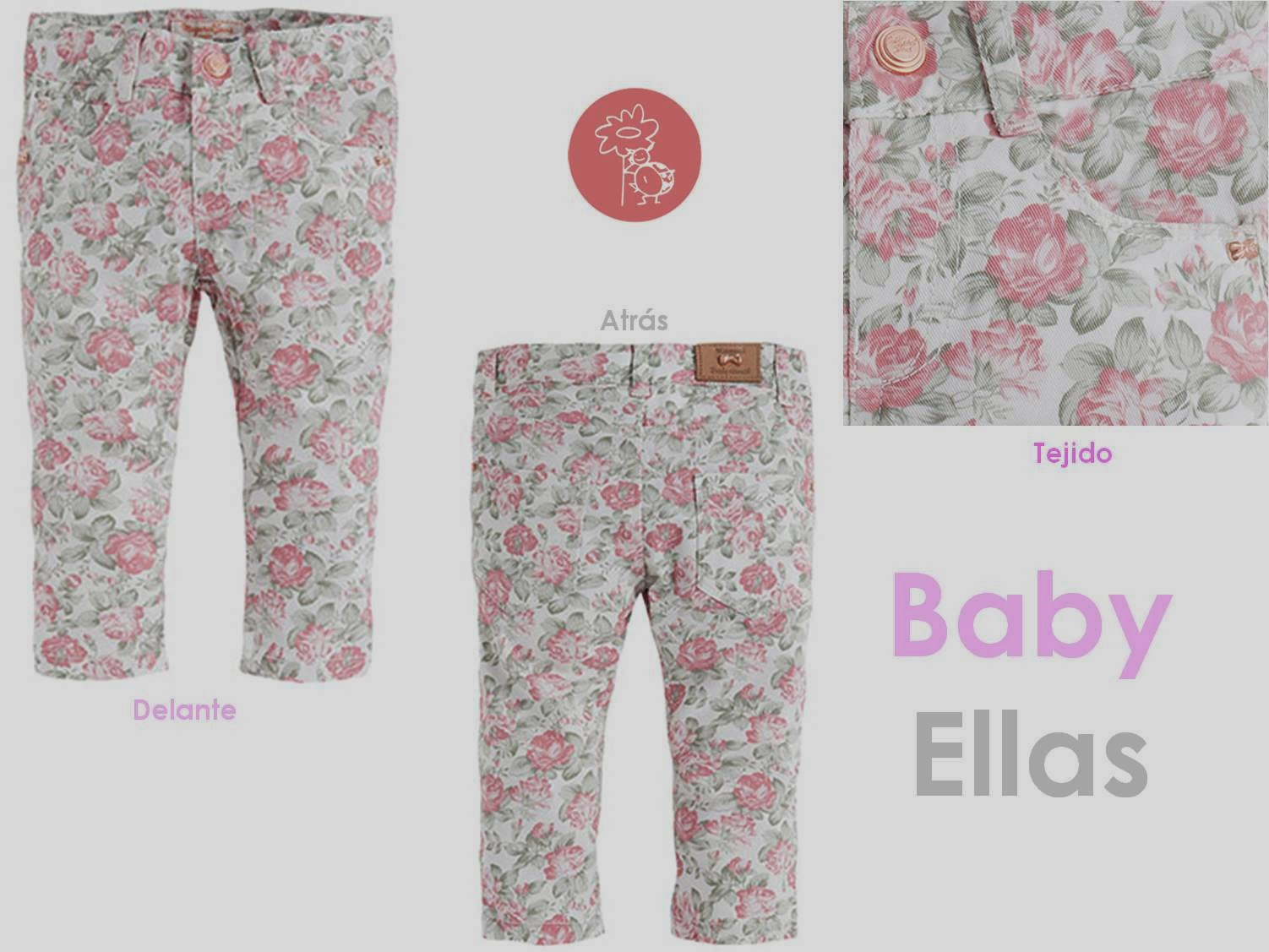 Mayoral pantalon largo flores en Blog Retamal moda infantil y bebe