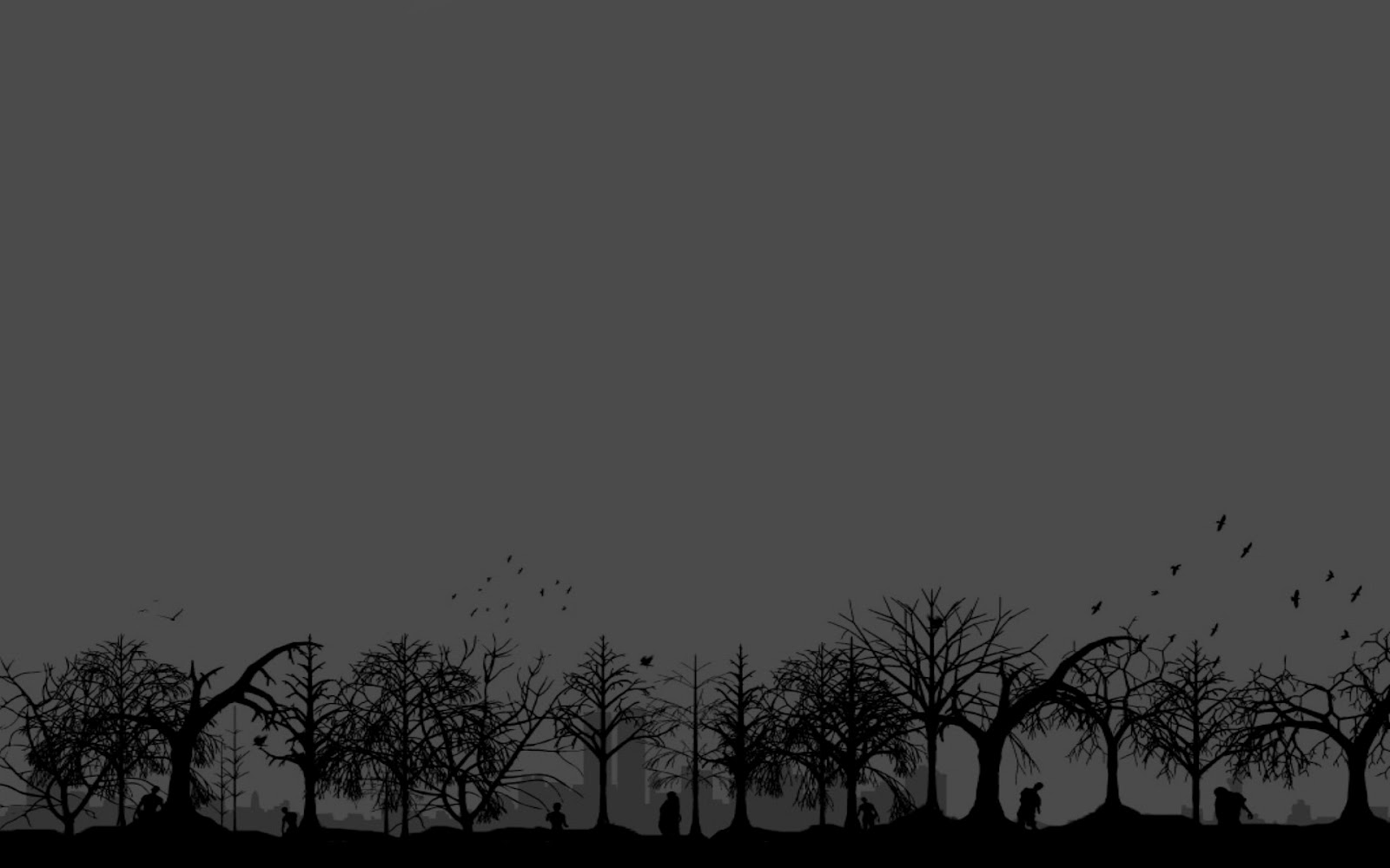 wallpaper a day vector zombie apocalypse end of world