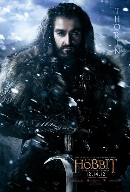 the hobbit, character poster, thorin