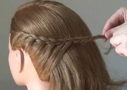 como hacer peinado elegante para cabello largo ~ belleza y peinados