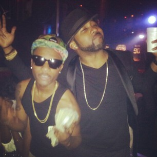 banky w wizkid fighting