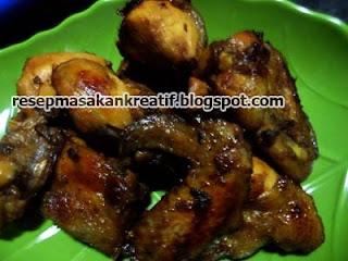 Cara Membuat Ayam Goreng Bumbu Bacem
