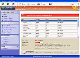 Error trojan activity detected system integrity at risk full system