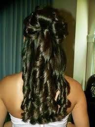 Peinados, Quinceañera, Cabello Largo