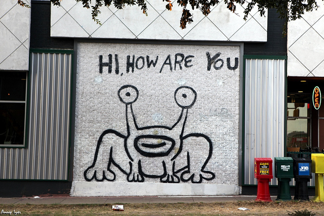Eventhology for Daniel johnston mural