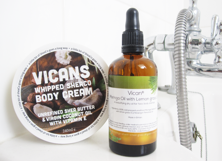 Vicans Whipped Sheaco Body Cream & Moringa Oil with Lemongrass review