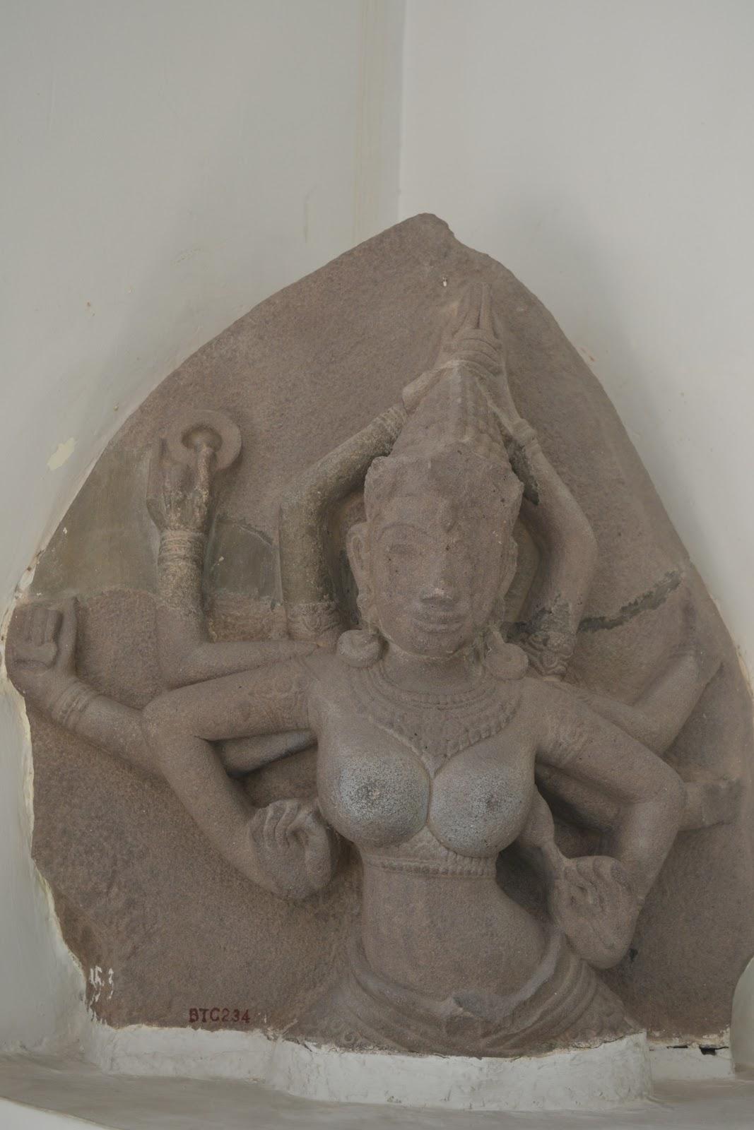 Goddess shakti in cham museum , danang
