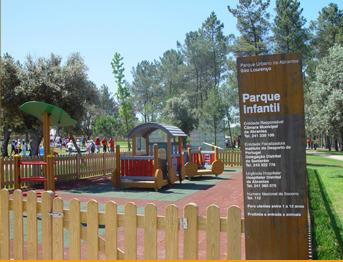 parque infantil em São Lourenço