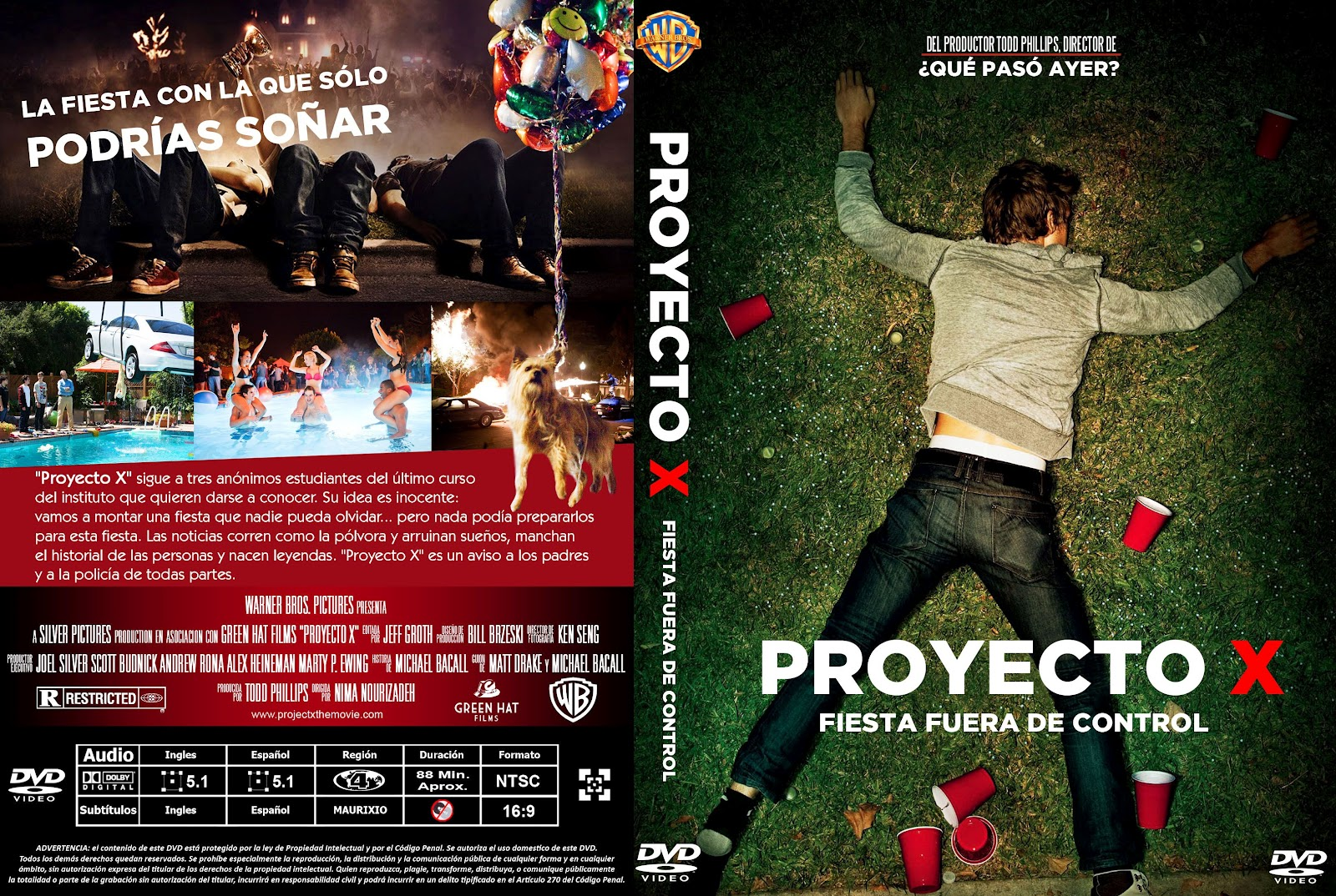 Mania digital proyecto x fiesta fuera de control 2012 for Fuera de control dmax