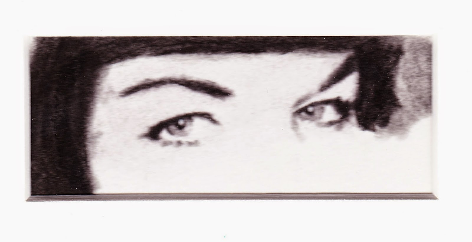 Eyes of Bettie Page by F. Lennox Campello