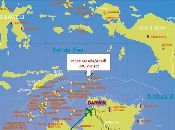 Royal-Shell Belanda dan Inpex Jepang Lirik Blok Masela
