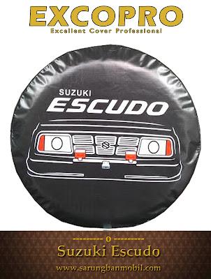 sarung ban cover ban serep suzuki escudo