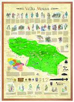 Mapa Veľkej Moravy a Samovej ríše !!!
