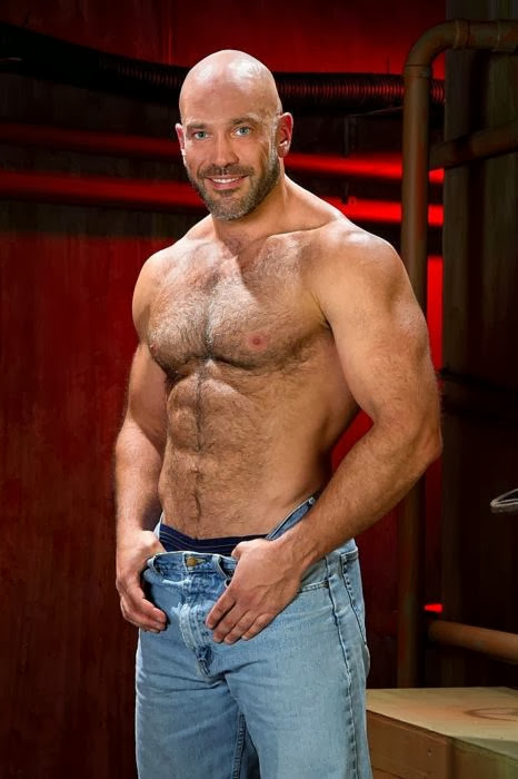 Labels Daddy Bears Devilish Handsome Men Hairy Chested Hunks