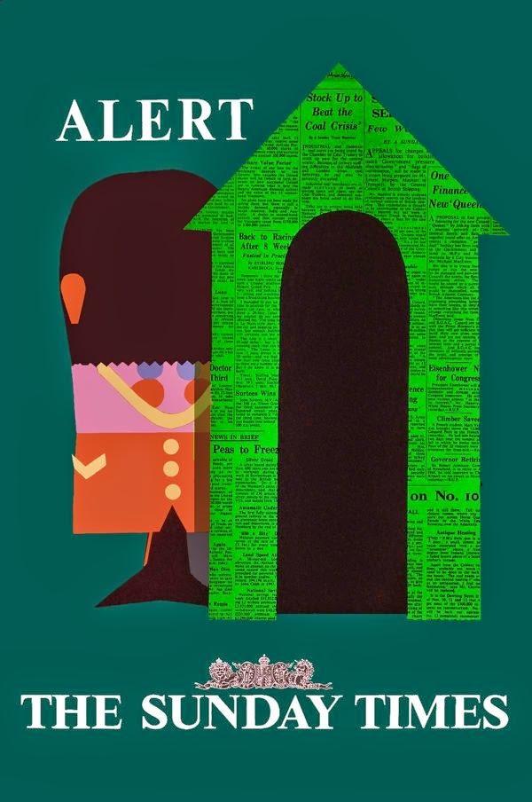 BBDO Sunday Times Poster Tilley