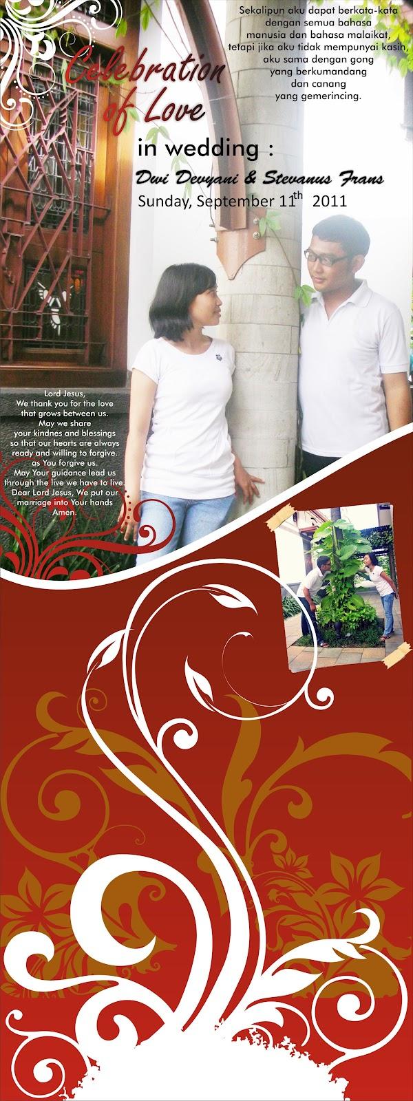 Design x banner pernikahan - Download File Corel Draw Desain Banner Pernikahan