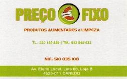 PREÇO FIXO