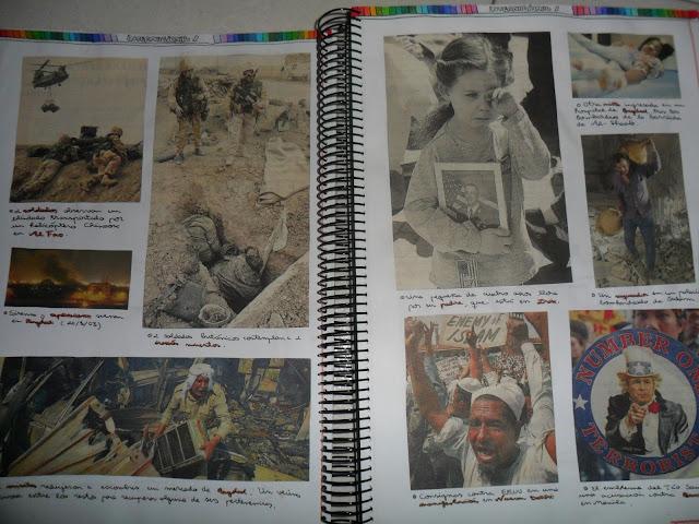Imágenes de guerra y sus consecuencias
