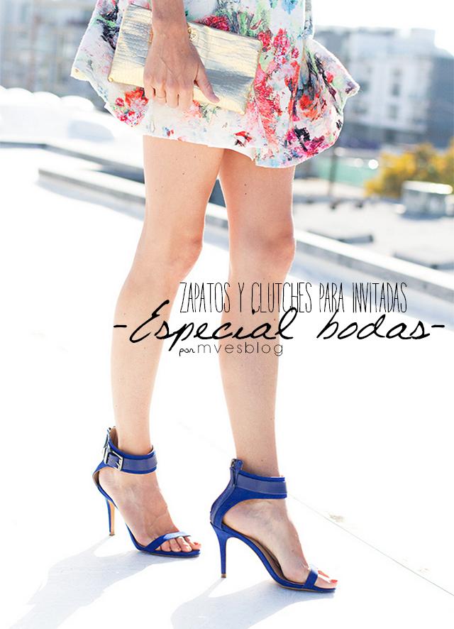 Zapatos y bolsos para invitadas de boda